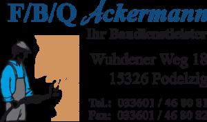 F/B/Q Ackermann - Ihr Baudienstleister