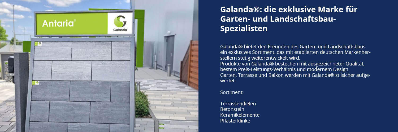 Galanda die exklusive Marke für Garten- und Landschaftsbau-Spezialisten-bei Leymann Baustoffe