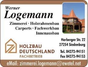 Werner Logemann Zimmerei Fachwerkbau